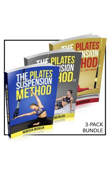 3-pack bundle of Pilates Suspension Method Books